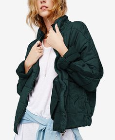 Free People Quilted Dolman Jacket - Free People - Women - Macy's