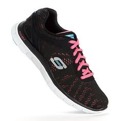 I ditched my Nike gym shoes for these Sketchers (Flex Appeal First Glance Women's Cross-Trainers).  They are super comfortable and great for zumba fitness!