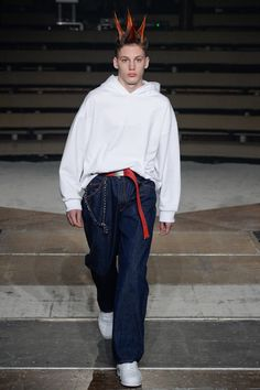 Gosha Rubchinskiy Fall 2016 Menswear Fashion Show