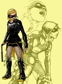 Ok, I could see this working on a fresh out of high school version of black canary. Not the full grown adult version Superhero Characters, Comic Book Characters, Comic Books, Arrow Black Canary, Dinah Laurel Lance, Vigilante, Lance Black, Team Arrow, Batwoman