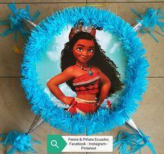 Facebook, Instagram y Pinterest: Fiesta & Piñata Ecuador. #Quito #piñatapersonalizada #moana #fiestaypiñataecuador