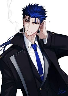 Browse Fate/Stay Night Cu Chulainn lancer collected by Geri Petkova and make your own Anime album. Fate Zero, Saga, Fate Stay Night Series, Fate Characters, Child Of Light, Fate Anime Series, Comic Pictures, Action Poses, Anime Shows