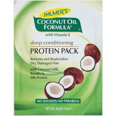 palmers protein pack -something I will try as protein is needed to strengthen hair and help prevent breakage