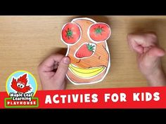 Funny Face Activity for Kids   Maple Leaf Learning Playhouse - YouTube