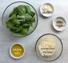 simple basil pesto- just 5 simple ingredients! It will be prime basil ...