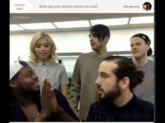 """Pentatonix/PTX Spreecast June 29, 2015 - Honestly my favorite one so far <3 lol they made sure they never said the word """"soon"""" bc of all of us XD"""
