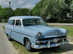 1954 Ford Mainline Ranch Wagon