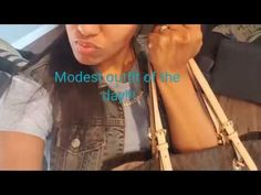 Modest outfit of the day!!!! - YouTube