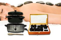 Kit de MASAJE con PIEDRAS CALIENTES http://www.agrucompbelleza.es/detalle-oferta/deal/view/324/kit_de_masaje_con_piedras_calientes