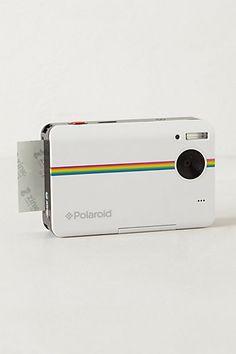 Social tech: Polaroid Z2300 Instant Digital Camera Kit #anthropologie