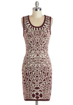 Up Close and Personality Dress   Mod Retro Vintage Dresses   ModCloth.com