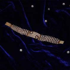 Gemstone Bracelet jewellery for Women by jewelegance. ✔ Certified Hallmark Premium Gold Jewellery At Best Price Bridal Jewelry, Gemstone Jewelry, Gold Jewelry, Beaded Jewelry, Women Jewelry, Fashion Jewelry, Pearl Jewelry, Diamond Jewelry, Gold Earrings Designs