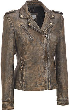 Moto jacket from Wilson's leather
