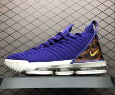 "3250e6d907d Shop Mens Nike LeBron 16 ""King Court Purple"" Shoes AO2588-500"