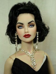 Megan Fox as Liz Taylor Doll?