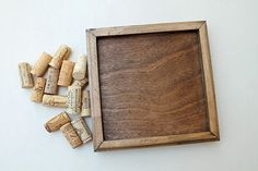DIY Wine Cork Trivet Kit  Reclaimed Wood