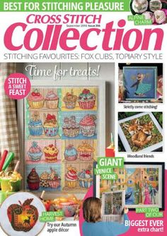 Cross Stitch Collection Issue 266 September 2016 Zinio