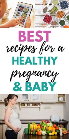 Pregnancy recipes for every trimester. The best collection of healthy recipes fo. - Pregnancy recipes for every trimester. The best collection of healthy recipes fo. Date Recipes For Pregnancy, Healthy Pregnancy Food, Pregnancy Nutrition, Pregnancy Tips, Early Pregnancy, Pregnancy Classes, Pregnancy Facts, Ectopic Pregnancy, Pregnancy Journal