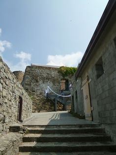 Riomaggiore, Liguria Italia (Luglio) Riomaggiore, Mansions, House Styles, Home Decor, Italia, Decoration Home, Manor Houses, Room Decor, Villas