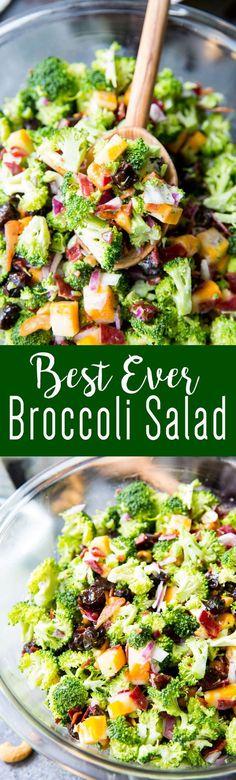 Best Ever Broccoli Salad