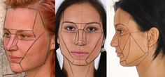 face topology cartoon reference - Pesquisa Google