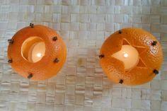 Strefa Dzieci - Pachnące lampiony z pomarańczy i mandarynek