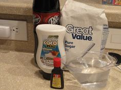 Recipes from Stephanie: Dirty Dr. Pepper-Swig Style [includes recipe for coconut syrup] Coconut Drinks, Coconut Recipes, Dip Recipes, Syrup Recipes, Refreshing Drinks, Yummy Drinks, Swig Sugar Cookies, Yummy Treats, Yummy Food