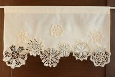 Nice idea to make with all those doilies I'm saving...