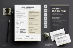 Professional Resume Template @creativework247