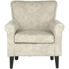 @Overstock - This Gramercy garden motif grey club chair features an elegant contemporary design. The fabric is a polyester blend in grey color with accents of ivory.http://www.overstock.com/Home-Garden/Gramercy-Garden-Motif-Grey-Club-Chair/6990942/product.html?CID=214117 $356.99