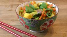 Fruchtiges Thai-Curry vegan on http://derbiokoch.de