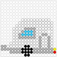 MEGA provides free cloud storage with convenient and powerful always-on privacy. Hama Beads Patterns, Beading Patterns, Peler Beads, Camping Theme, Fuse Beads, Plastic Canvas Patterns, Design Crafts, Caravan, Pixel Art