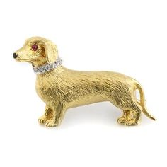 Scully And Scully, Silver Swan, Halcyon Days, Dog Jewelry, Animals Beautiful, Dachshund, Brooch Pin, Dog Lovers, Dog Cat