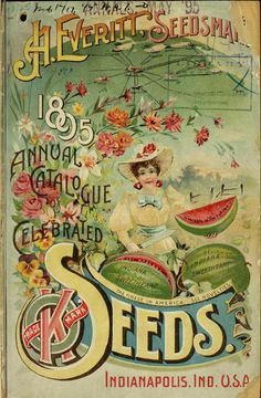 1895 annual catalogue of celebrated seeds