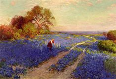 Julian Onderdonk, Bluebonnet Scene with Girl, The Ogden Museum of  Southern Art New Orleans, LA