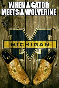 NO props at ALL to Michigan, just wanted to point out how METAL these slip-ons would be. U Of M Football, Michigan Wolverines Football, Football Season, College Football, Football Stuff, Colleges In Michigan, University Of Michigan, Detroit Sports, Sports Teams