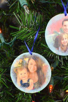 DIY Photo Transfer Ornaments | Revamperate