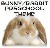 Bunny Theme Ideas for Preschool:  Whether or not you will be doing activities in your preschool program to celebrate Easter, spring time is a good time to learn about Rabbits. Here are some ideas and resources to have some hopping good fun.