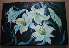 Resultado de imagem para pintura lirio