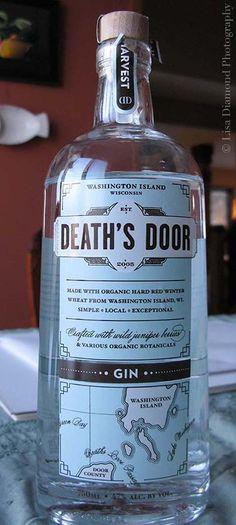Death's Door Gin from Door County, Wisconsin