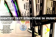 Identify Text Structure in Music