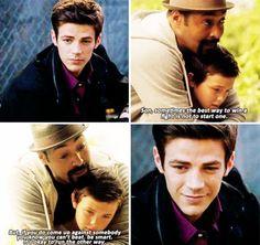 The Flash - Barry and Joe #1x06 #Season1 ♥