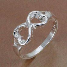Venta al por mayor R092 anillo de plata 925, la joyería de plata 925 anillo en forma de(China (Mainland))