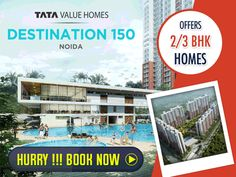 #TataValueHomesNoida150 #tatanewprojects #Homeownership is the only thing for which every Indian is hungry. To know more, http://www.tatanewprojects.com/tata-value-homes-noida.htm