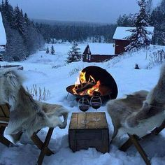 Reasons to Travel to Sweden During Winter Borgasen,Sweden ❄❄ Now, this is civilised!