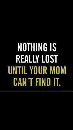 Nothing is really lost...