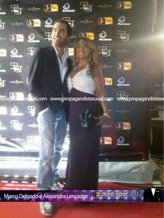 Marco Delgado e Alexandra Lencastre. Todas as fotos em: http://propagandistasocial.com/festaveraotvi2012