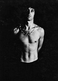 Jim Morrison photographed by Joel Brodsky, 1968.