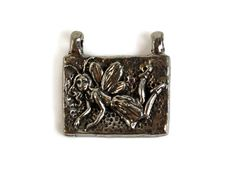Green Girl Studios Pixie Fairy Pewter Pendant by createyourbliss, $8.00