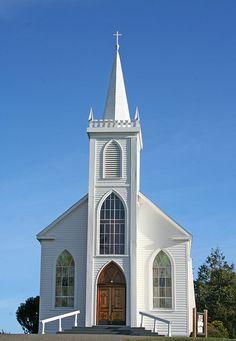 St. Theresa's church, Bodega CA - Where we will celebrate our 4th Anniversary!